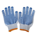Durable Safety Working Gloves Dotted Firm Grip Gloves,Garden, Construction,Industry,Metal Work,Electricity Engineering Use, Cotton with PVC Dots