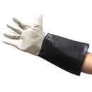 "Premium Opromo Leather Long Welding Gloves with Flexible Fingers Design, 7""W x 14 1/2""L"