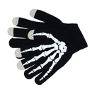 """Opromo Boys Stylish Stretch Touch Screen Gloves Skeleton Winter Texting Gloves, 4 4/5""""W x 7 4/5""""H"""