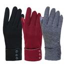 """Women's Smart Touch Gloves Winter Windproof Velvet Gloves, 3 1/3""""W x 9""""H"""