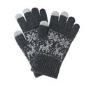 "Men's/Women's Smart Touch Gloves, Winter Warm Knit Gloves-5 1/2""W x 8 1/4""H"