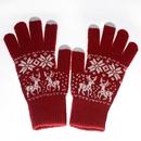 "Smart Touch Gloves, Opromo Men's/Women's Winter Warm Knit Gloves-5 1/2""W x 8 1/4""H"
