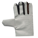 Double Layer Heavy Duty Preventive White Leather Welder Working Gloves, Prevent Sparks Splashing and Heat Resistant