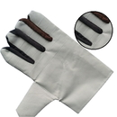 Aspire Double Layer White Leather Welder Gloves