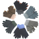 Opromo Women Men Winter Touchscreen Gloves Knit Texting Gloves Warm Mittens