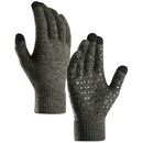 Opromo Women Men Touchscreen Gloves Knit Warm Lined Non-slip Texting Gloves