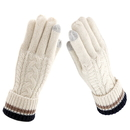 Opromo Ladies' Winter Touch Screen Gloves Thick Knit Warm Winter Texting Gloves