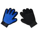 Opromo Pet Grooming Glove, Hair Remover Glove, Gentle Deshedding Brush Glove, Dog Cat Bath Massager