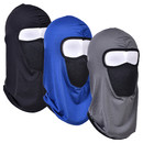 Muka Summer Balaclava Neck Cover Sun Dust Windproof Breathable Full Face Holder for Outdoor