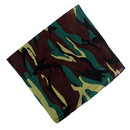 100% Cotton Camo Bandana Sweat Handkerchief Outdoor Camouflage 12in1 Neck Gaiter,Cycling Balaclava