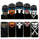 Seamless Neck Gaiter Shield Scarf Bandana Face Pattern Balaclava Tube Hat for Motorcycle Cycling Running Dust Outdoors, 10