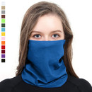 Blank Solid Neck Gaiter Promotion Seamless Face Cover Balaclava Tube Hat Bandana for Dust Outdoors, 10
