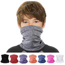 Opromo Kid & Adult UV Neck Gaiter Teens Cooling Face Scarf Breathable for Hot Summer Cycling Hiking Sport Outdoor, 11 in x 7.5 in