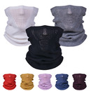 Muka Mesh Face Scarf Breathable Neck Gaiter, 12 1/2