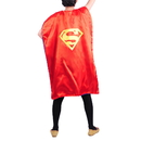 Custom Youth Satin Superhero Double Cape, 27