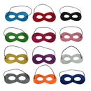 Opromo Superhero Mask, Kids Party Mask Halloween Costumes and Dress-Up For Children & Adults