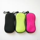 Blank Floating Zipper Neoprene Pouch w/Clip Hook Sunglass Case, 2 3/4