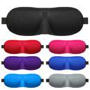 3D Soft Eye Sleep Mask Padded Shade Cover Travel Relax Sleeping Blindfold, 3 1/2
