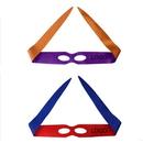 Custom Two-sided Satin Ninja Turtles Eye Masks, 2 3/5