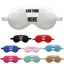 Custom Silk Sleep Eye Mask Cover Double-Side Smooth Travel Nap Eye, 8 1/4