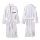 Custom Blank Unisex Hotel Spa Cotton Terry Cloth Shawl Bathrobe Thick Plush Robe