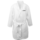 Custom Personalized Kids Waffle Kimono Robe Spa Hotel Bathrobe with Pockets