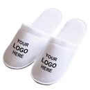 Custom Slippers Personalized Unisex Closed Toe Spa Hotel Slippers