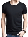 Opromo Blank Cotton T shirt with Printed Logo or Embroidery, Long Leadtime, 5.3oz