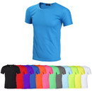 Opromo Blank Moisture-wicking Dry Fit Lightweight T-Shirts Athletic Tee Shirt(S-XXXL)