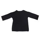 Custom 3/4 Length Sleeve Crew Neck Modal T shirt with Printed Logo S - 3XL For Men & Women