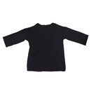 Unisex Adult Blank 3/4 Length Sleeve Crew Neck Modal Solid color T shirt  S - 3XL