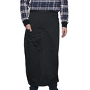 Opromo Blank Bistro Apron with One Patch Pocket, Polyester/Cotton Twill - In Stock