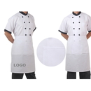 Custom Half Bistro Apron with One Pocket, 25.5