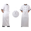 Opromo Long Bistro Apron with One Pocket, 27.5