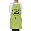 Blank Cotton Canvas Adjustable Chef Kitchen Apron with Two Front Pockets, 26 3/4