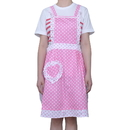 Flirty Women's Aprons with Pocket, Lady's Fashion Apron, Cotton Apron, 23 1/4