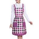 Women's Fashion Aprons with Two Front Pockets, Girls' Apron, 33