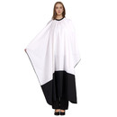 Professional Hair Salon Cutting Cape with Adjustable Clasp Closure, 63