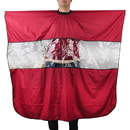 Barbers Hair Cutting Cape Gown with Rectangular Viewing Window, 48