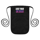 Custom Money Pouch with Extra Long Waist Ties, Chef Apparel Belt Pouch, 8.5