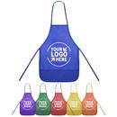 Customized Non-Woven Fabrics Unisex Colorful Kids Apron (S/M)