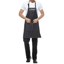 Custom Cotton Denim Apron w/3 Pockets for Men and Women, 39