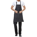 Opromo Durable Cotton Denim Apron w/3 Pockets for Men and Women, 30.5