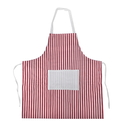 Stripe Cotton Canvas Aprons With Pocket, 27 3/5