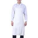 Blank Waterproof Sleeveless Soft Leather Apron Hanging Neck, 39.4