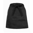 Poly cotton Women Apron Uniform Half Waist Apron for Cafe/Pub/Restaurant
