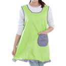 Cute Household Women Vest Ruffle Apron with Bowknot and Pocket, Various of Colors