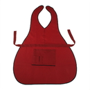 """Professional Barber Uniform Neck Apron with Two Big Pockets and Four Small Slots for Tools or Pens, 23 1/2""""W x 36 1/2""""H"""