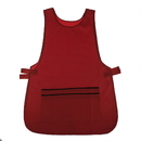 "Polyester Waterproof Beauty Salon Smock Vest Uniform Apron Nail Beauty Salon Apron with Six Pockets, 19 1/2""W x 29""L"