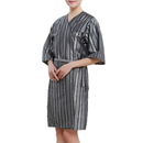 Comfortable Women Spa Gown Waterproof Beauty Salon Kimono Style Gown with One Pocket
